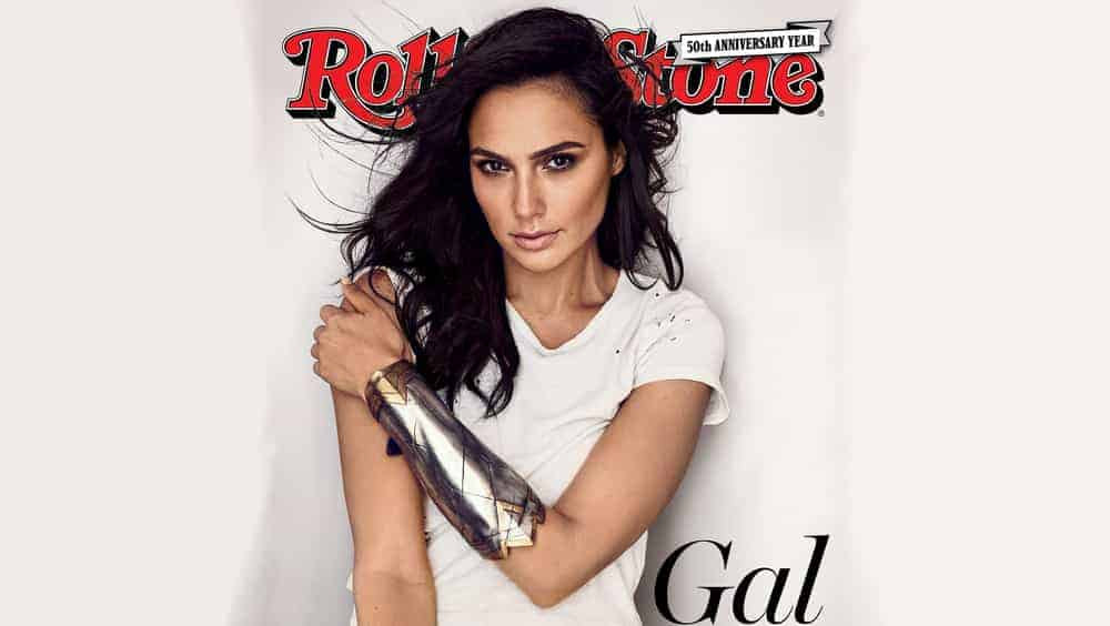 Gal Gadot Rolling Stone Photo Shoot
