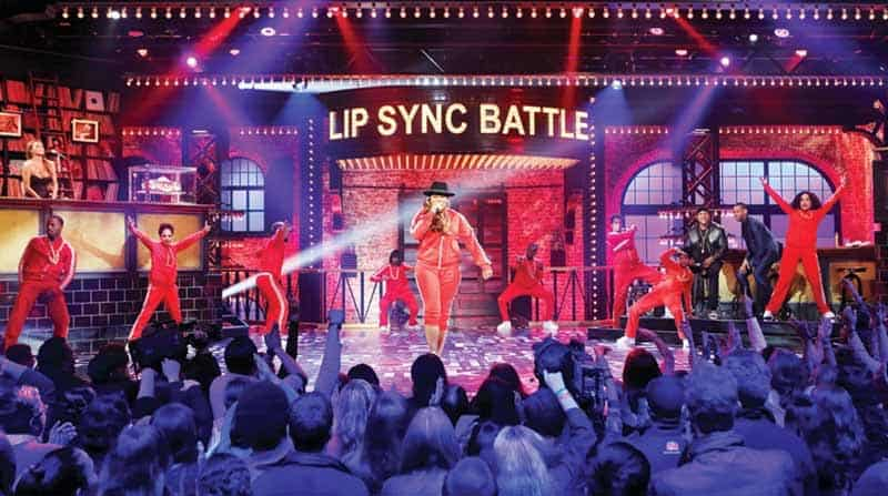 Spike TV's Lip Sync Battle Michael Jackson Tribute Rehearsals