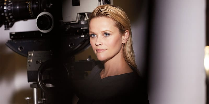 Elizabeth Arden Shoots with Reese Witherspoon